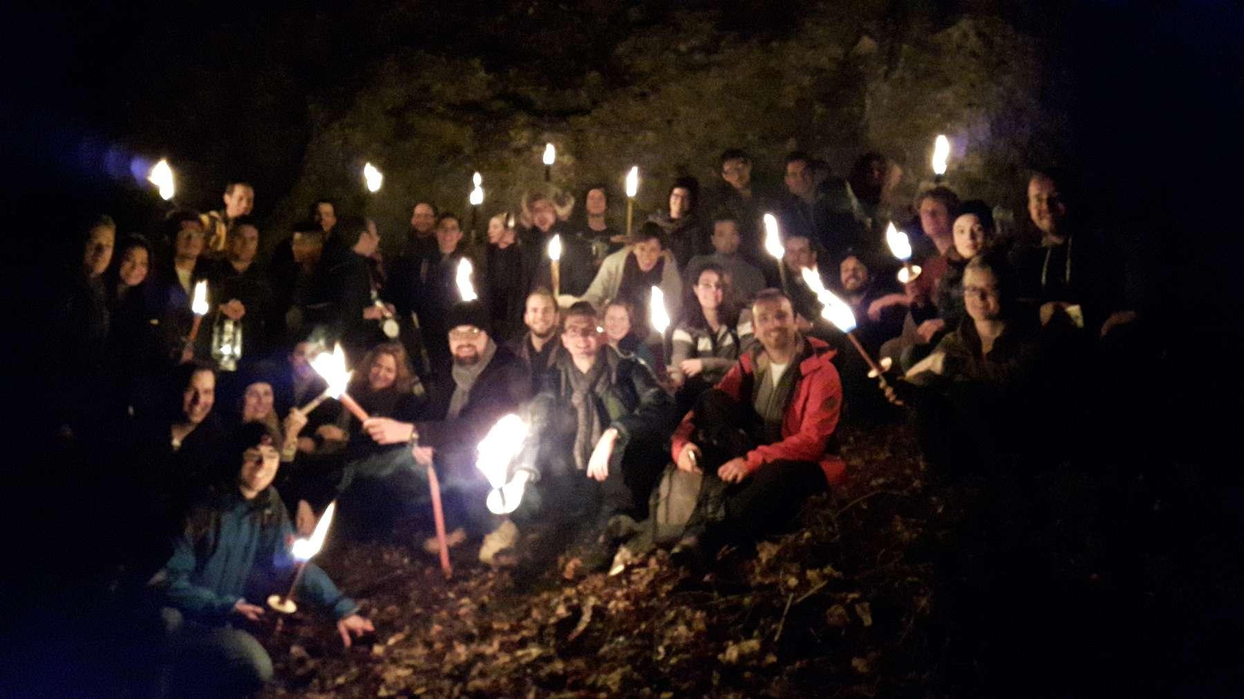 Foto Fackelwanderung Ütliberg 2015 Organisator Janos Horvath