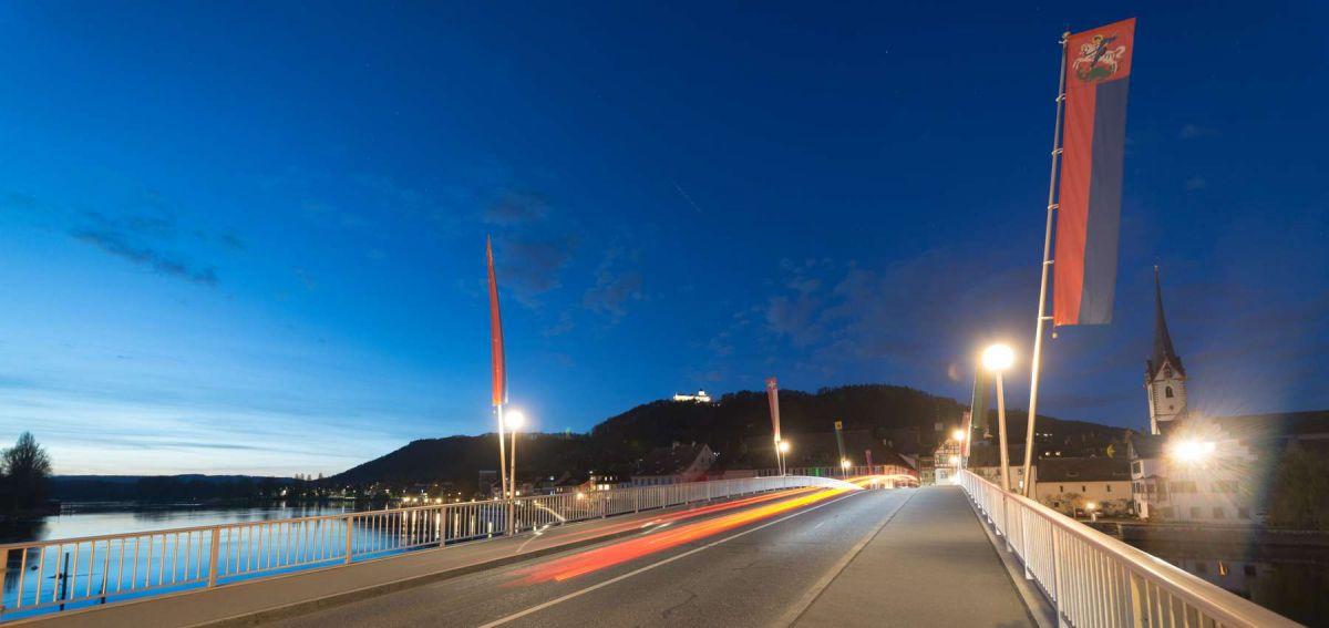 foto stein am rhein abends rheinbrücke fotograf banner