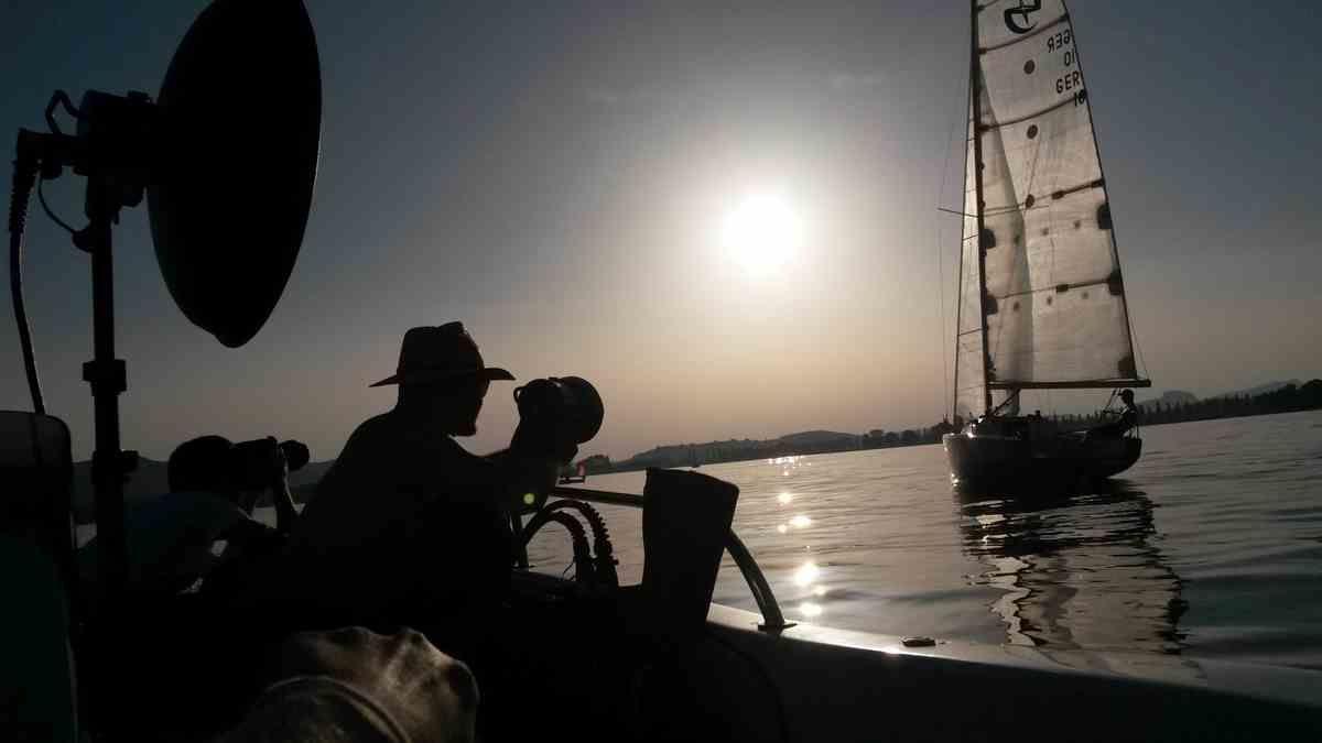 Fotoshooting mit Rainer Rössler RR Fotografie. Fotos von einem Segelboot auf dem Bodensee bei Radolfzell