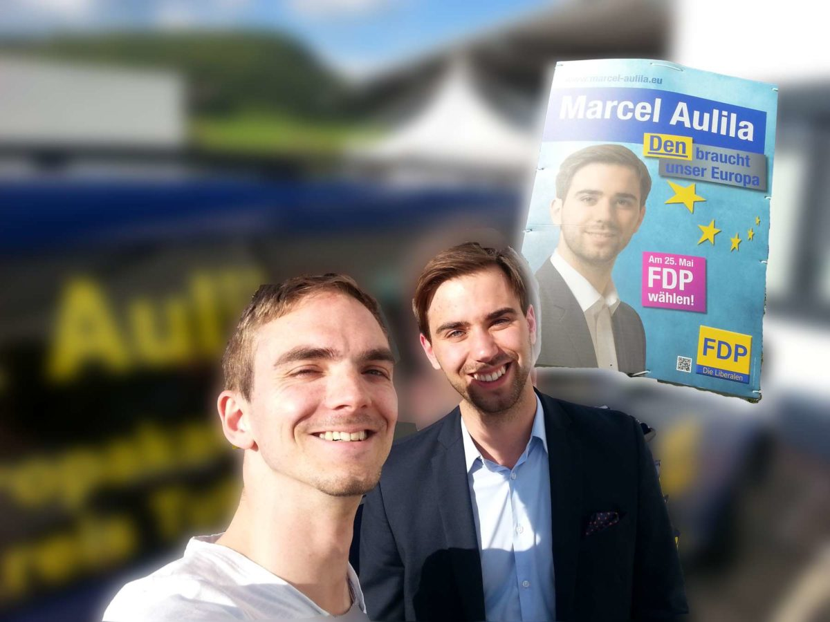 Marcel Aulila – FDP Europa Kandidat 2014
