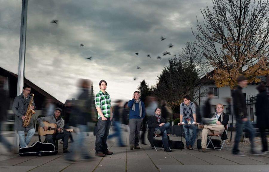 Band Fotoshooting mit Acombo in Villingen mit Fotograf Rainer Rössler