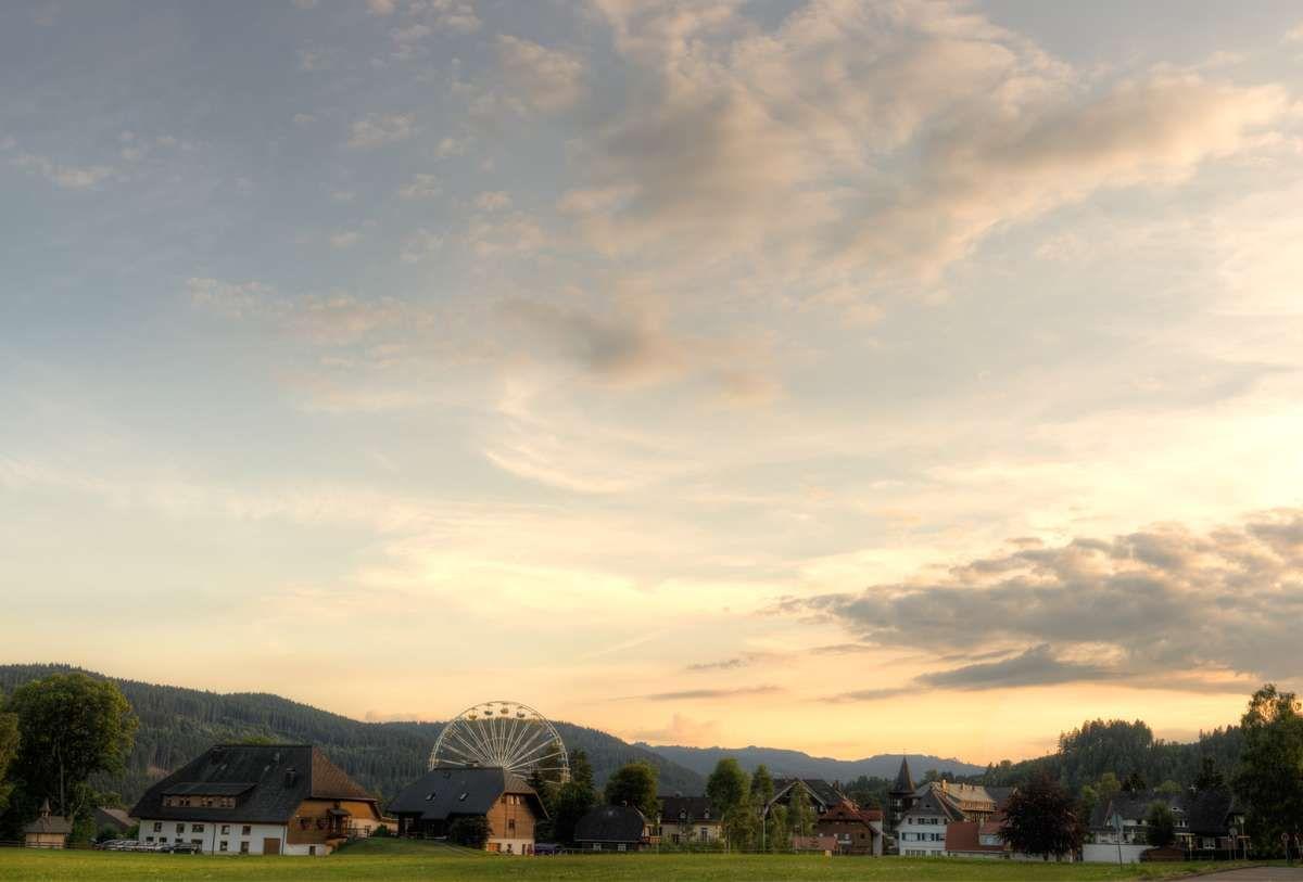 fotograf titisee abend sommer dämmerung himmel riesenrad