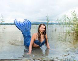 Meerjungfrau Mermaid Fotoshooting