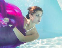 Fotoshooting Unterwasser