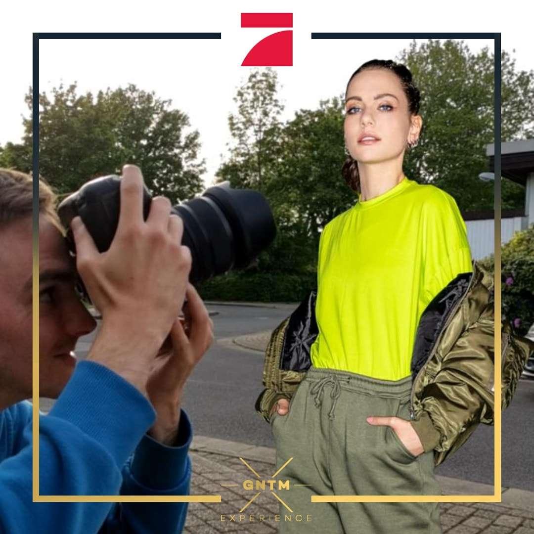 Germany´s next Topmodel GNTM Vivian vor der Linse von Fotograf Rainer Rössler