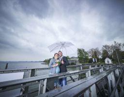 Hochzeitsfotos im Regen Mettnau Bodensee