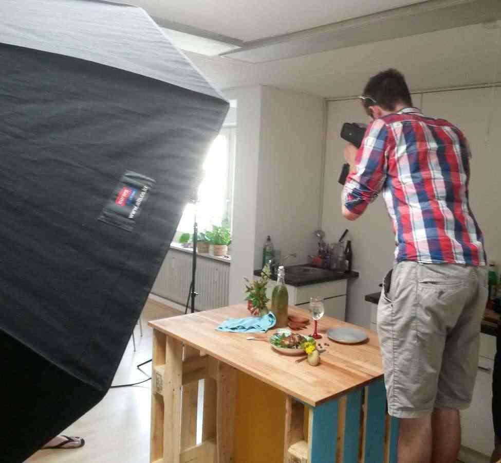 Food Fotoshooting bei Knödelkult mit Rainer Rössler RR Fotografie