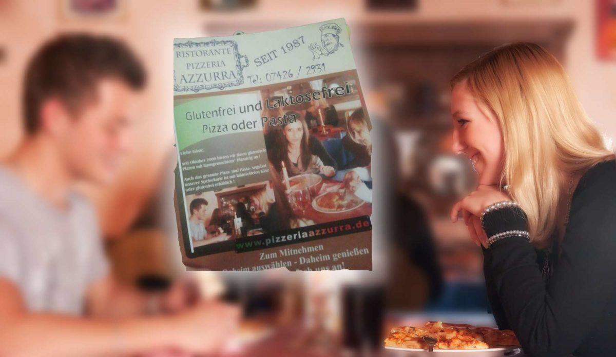 Werbefotografie Pizzeria Flyer