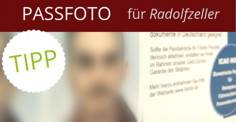 Biometrisches Passfoto für Radolfzeller