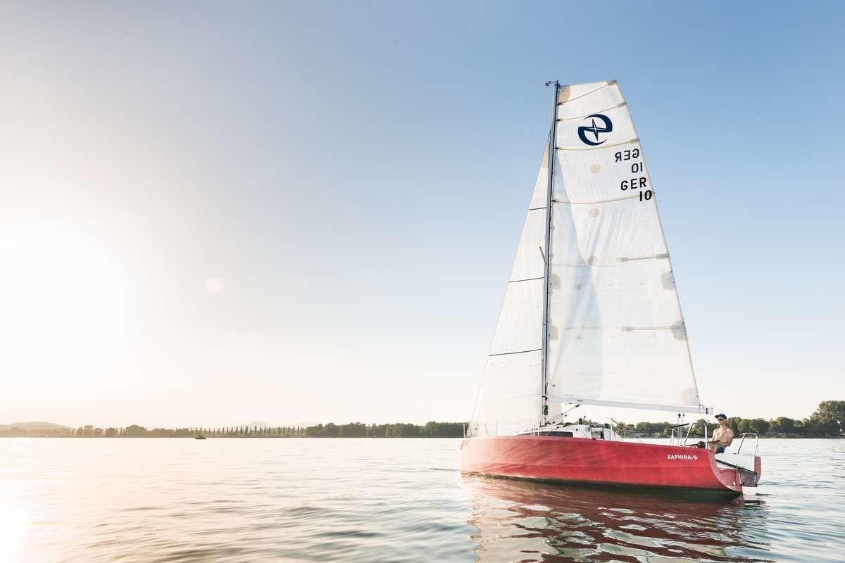 """Lifestyle-Shooting - Segelschiff """"Red Saphira"""" auf dem Untersee"""