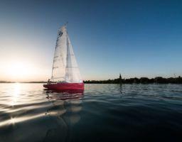 Segelschiff Fotoshooting Radolfzell Bodensee