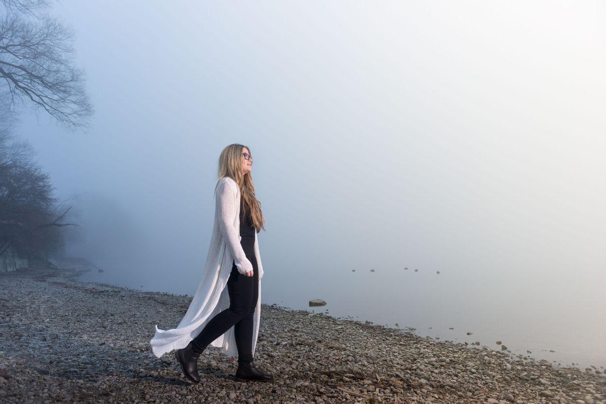 Mystisches Nebel-Shooting am Bodenseeufer