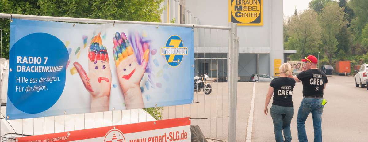 Radio7 Drachenkinder beim RideSafe-Festival in Bad-Saulgau