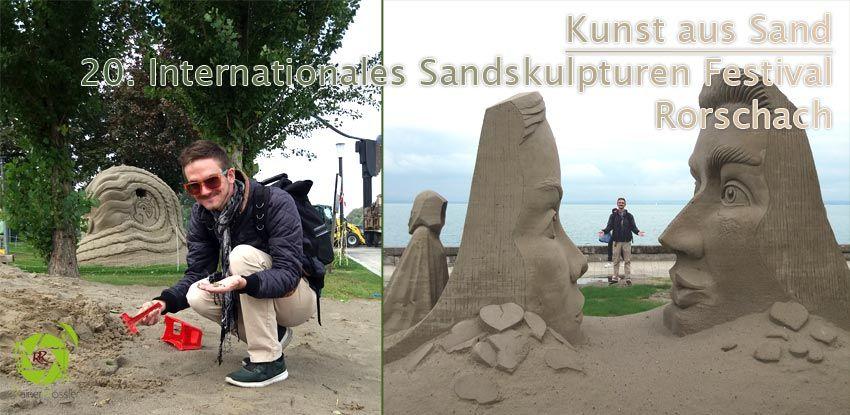 Kunst aus Sand – Rorschach CH